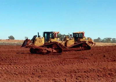 McClure Earthmoving Bulldozing