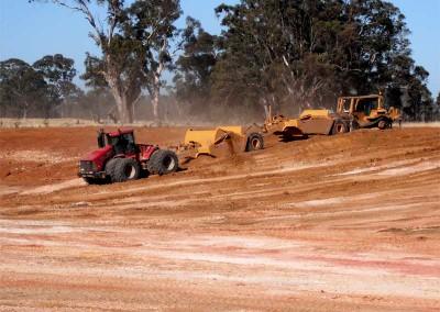Western Victoria tractor & trailer